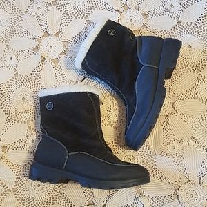 Sporto Polartec zip front boots